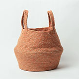COLLAPSIBLE JUTE TOTE