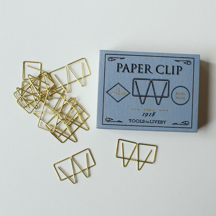 TOOLS to LIVEBY Paper Clip ペーパークリップ
